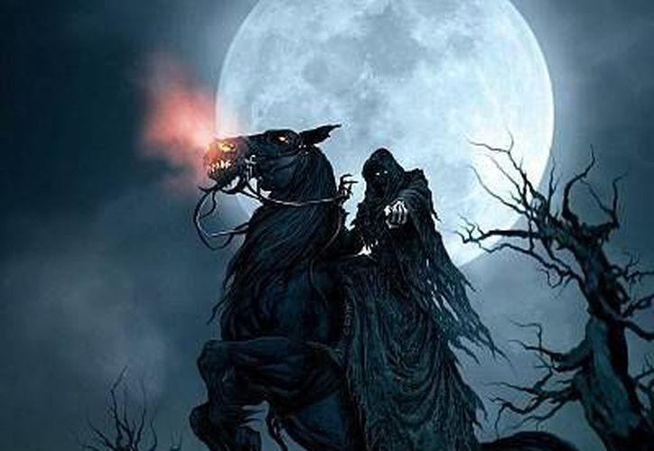 No todos los jinetes fantasmas son malos, como es el caso de Augusto Santos, quien solo busca venganza. (Jorge Moreno/SIPSE)