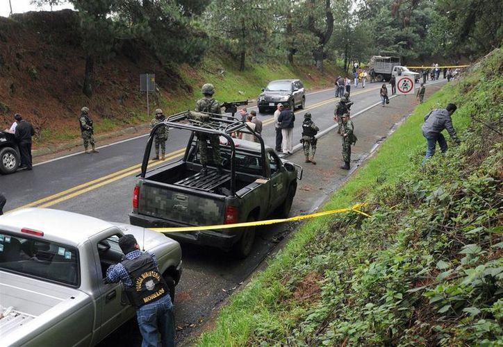 Los federales están involucrados en la balacera contra dos agentes de la CIA y un elemento de la Armada de México. (Archivo/AP)
