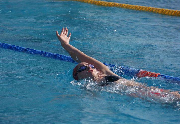 La próxima competencia para Andrea, será el Campeonato Mundial Junior de Natación. (Redacción)