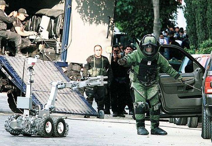El fallido atentado contra el entonces director de la Policía Sectorial, Julio César Sánchez Anaya, ocurrió el 15 de febrero de 2008. (Milenio)