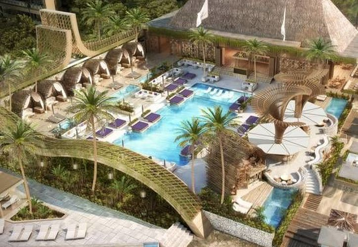 El complejo se construirá en la Riviera Maya y contará con 500 habitaciones, además de una discoteca Omnia. (www.grupovidanta.com)