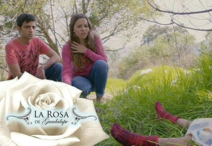 Televisa transmitió un capítulo de la Rosa de Guadalupe basado en el caso de la menor de 5 años identificada como Lupita. (Foto: Twitter)