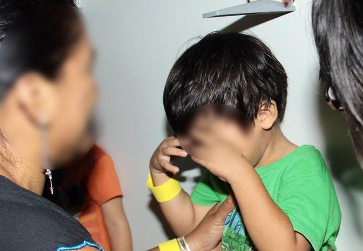 Niños yucatecos son víctimas de hostigamiento, así como violencia física y sexual. (Milenio Novedades)