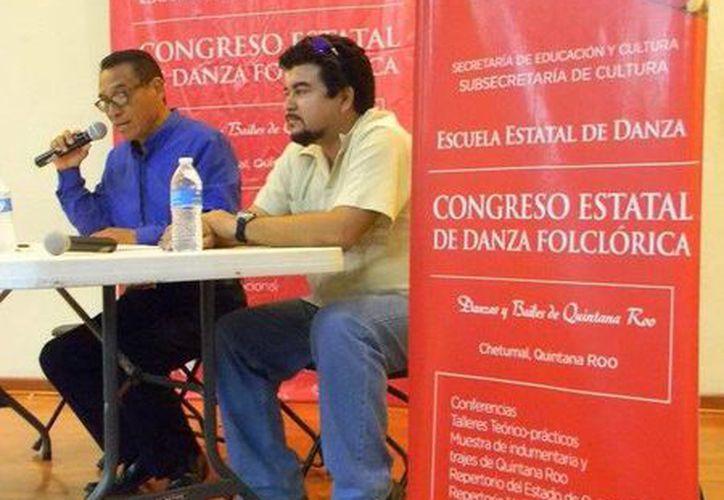 """Durante el congreso se llevó a cabo la mesa redonda """"El calipso y su devenir cultural en Quintana Roo"""". (Redacción/SIPSE)"""
