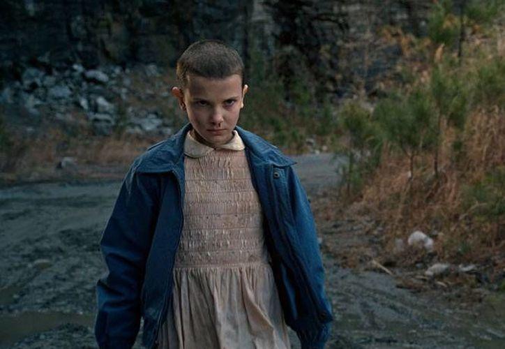 Millie Bobby Brown, de 12 años, tendrá su primer papel protagónico en el mundo del cine, luego de triunfar en la serie 'Stranger Things' de Netflix. (Foto de Netflix)
