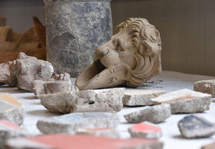 Se han hallado esculturas, nuevas casas y espacios públicos. (Notimex)