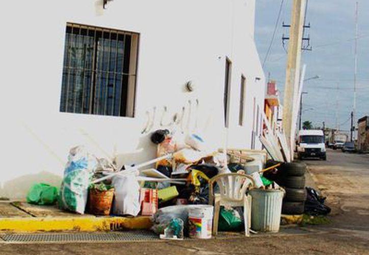 El fin de semana pasado, el Gobierno concluyó la descacharrización en las comisarías de Mérida. La imagen no corresponde al hecho, es únicamente de contexto. (Milenio Novedades)