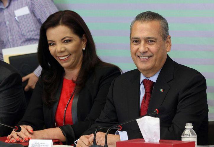 Manlio Fabio Beltrones acudió a Veracruz a la toma de protesta de la directiva tricolor de ese estado. (Archivo/Notimex)
