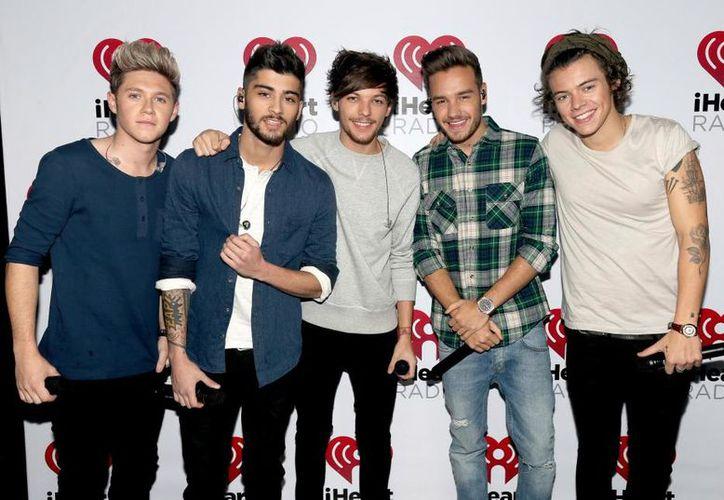 One Direction comenzó como una boy band en 2010 durante el reality show The X Factor. (Getty Images).