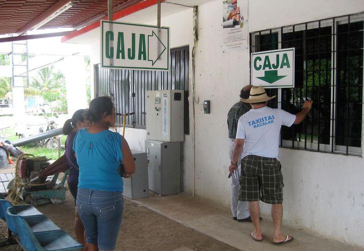 Los pagos para el servicio de liquidación únicamente están autorizados en ventanilla. (Javier Ortiz/SIPSE)