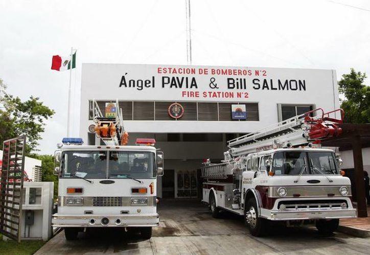 Esta estación de bomberos es una añeja solicitud ciudadana que permitirá atender de manera rápida y oportuna cualquier siniestro.(Redacción/SIPSE)