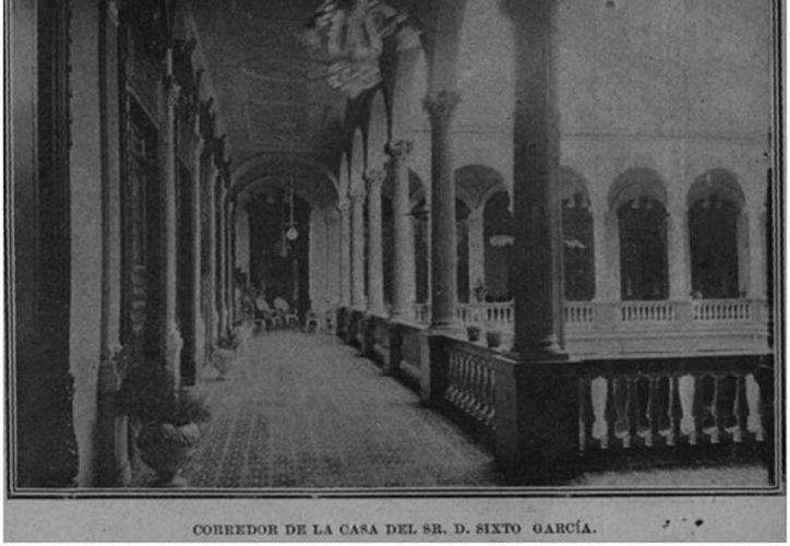 En los ochentas la casa de don Sixto Garcia fue demolida. (Sergio Grosjean/SIPSE)