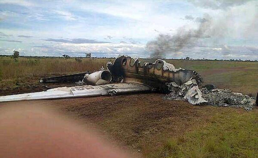 El Gobierno mexicano no se sintió satisfecho con la nota informativa que Venezuela les remitió sobre el avión mexicano destruido el 5 de noviembre. (@vladimirpadrino)