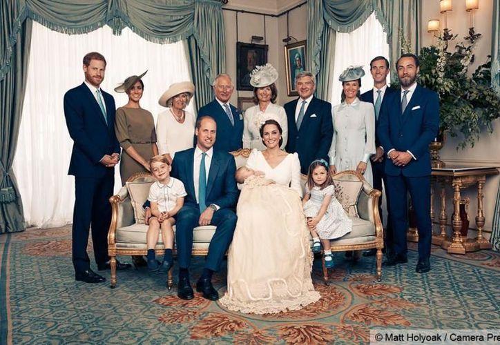 Louis fue captado por Matt Porteous, quien es el fotógrafo oficial de la familia real británica. (Quién)