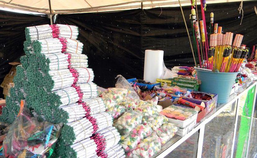 Hace apenas dos semanas la Sedena confiscó más de 13 toneladas de material pirotécnico y explosivo en Veracruz. (Notimex)