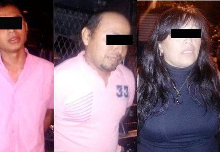 Fueron detenidos en el Anillo Periférico. (SSP)