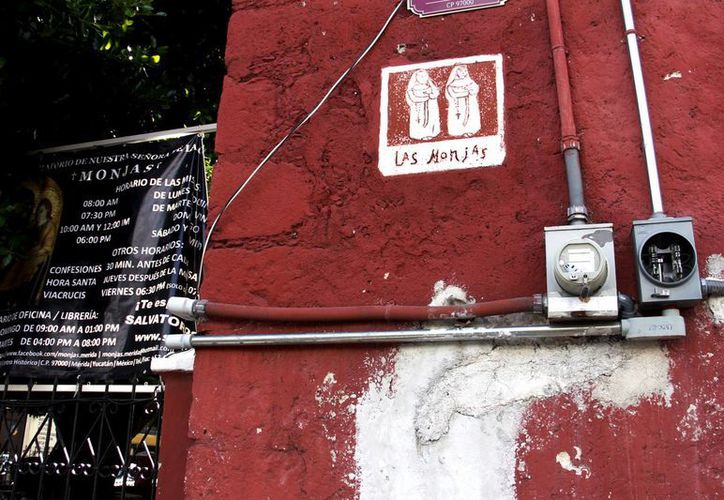 La iglesia de Monjas pagará este bimestre más de nueve mil pesos por consumo de electricidad. (Juan Carlos Albornoz/SIPSE)