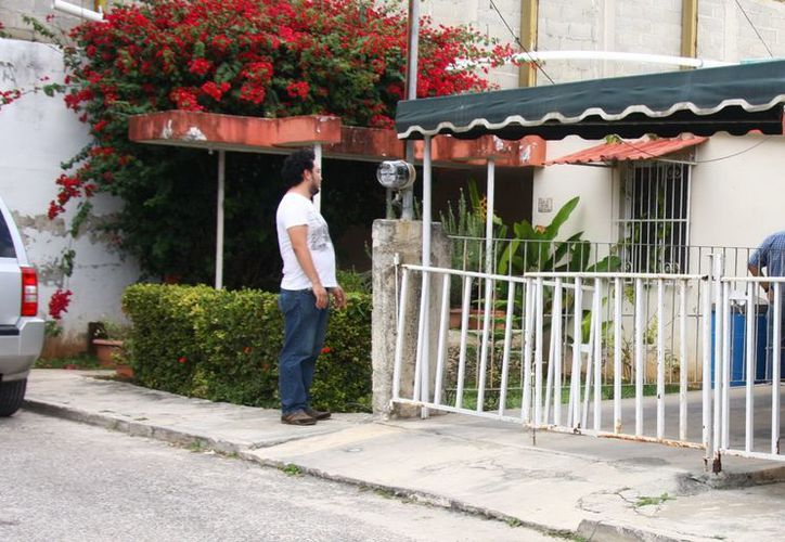 El robo ocurrió durante el madrugada en el predio 170 de la calle 13 X 30 de la García Gineres. (Jorge Pallota/SIPSE)