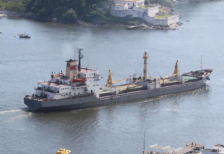 Naciones Unidas asegura que barco norcoreano Mu Du Bong es controlado por una empresa acusada de evadir sanciones por asuntos nucleares. (ship-db.de)