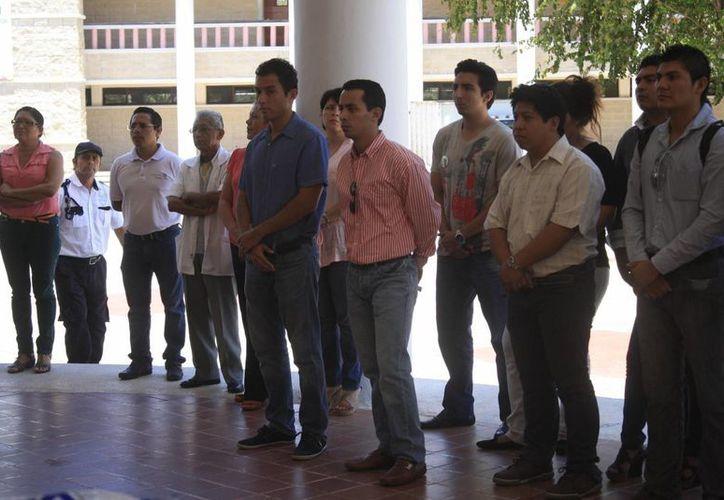 La Uqroo campus Cancún, actualmente tiene 180 estudiantes. (Ángel Castilla/SIPSE)