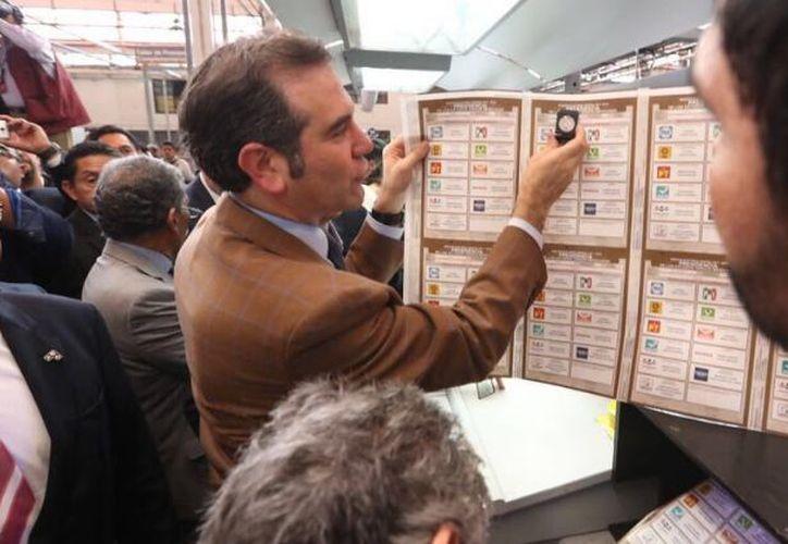Talleres Gráficos también será responsable de imprimir las boletas de 13 de los 30 estados que celebrarán elecciones concurrentes. (Twitter: INE)