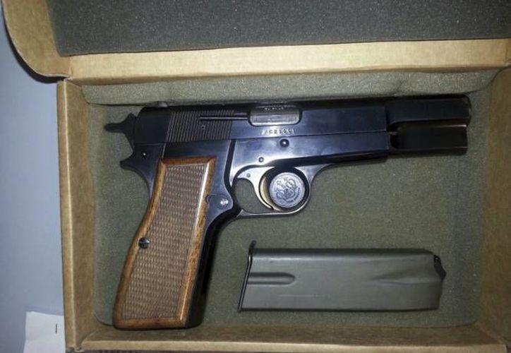 Los menores encontraron el arma el departamento donde se encontraban sin supervisión. La imagen es meramente ilustrativa. (Archivo/SIPSE)