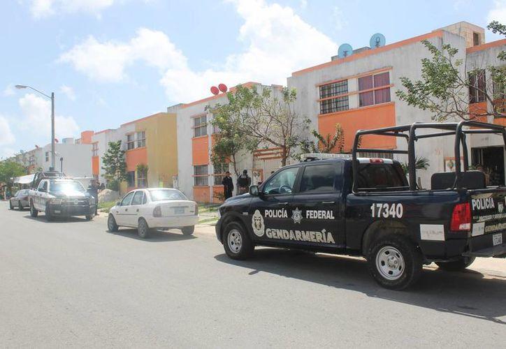 El sujeto pidió auxilio al número de emergencias 066 pues se encontraba herido. (Redacción/SIPSE)