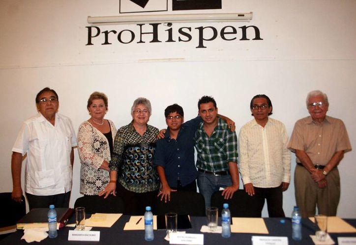 Integrantes y amigos del Patronato Pro Historia Peninsular. (Milenio Novedades)