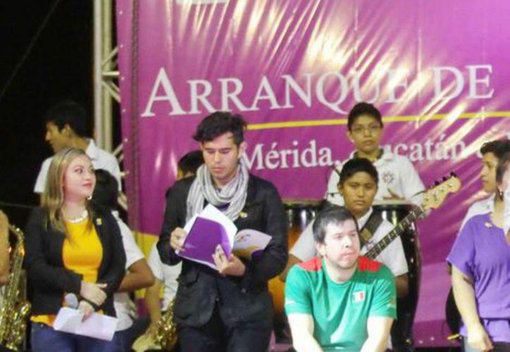 Realizan evento musical en el Paseo Verde por el Teletón en Yucatán. (Milenio Novedades)