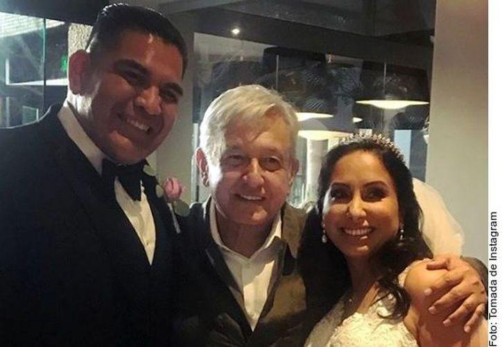 El evento de la pareja se llevó a acabo en el Hotel Lucerna de dicha ciudad fronteriza, mismo en el que el Mandatario federal se hospedó. (Instagram)