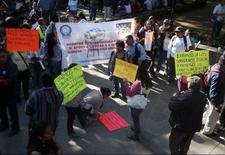 La PGR en Oaxaca ya ordenó capturar a 3 líderes magisteriales de la CNTE. (elzapoteco.com/Foto de contexto)