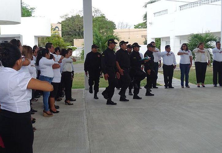 El evento fue realizado en las instalaciones de la FGE en Chetumal. (Redacción/SIPSE)