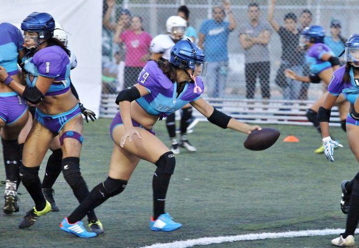 Las cancunenses suman su segundo triunfo en fila en la Temporada de Otoño 2017. (Ángel Villegas/SIPSE)
