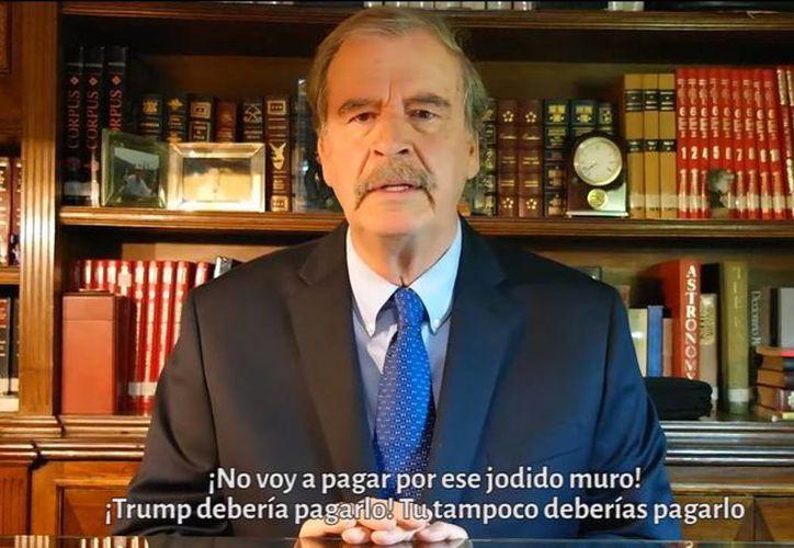 Vicente Fox asegura que las políticas de Donald Trump llevarían a EU a otra gran depresión. (Captura de pantalla/YouTube)