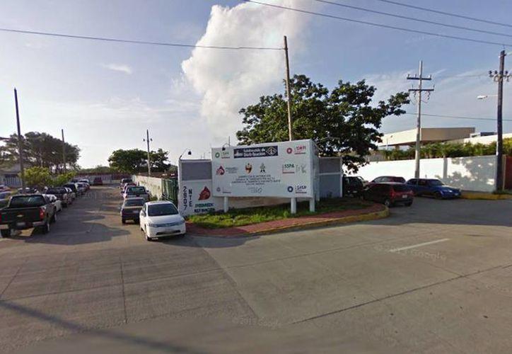 Imagen de las instalaciones de Pemex en Ciudad Madero, Tamaulipas, cerca del lugar encontraron el cuerpo de un hombre muerto. (Google maps)