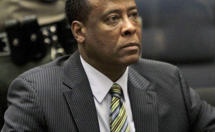 Murray reconoció que trataba a Jackson con sedantes, pero siempre mantuvo su inocencia respecto a lo sucedido el día de su muerte. (Archivo/EFE)