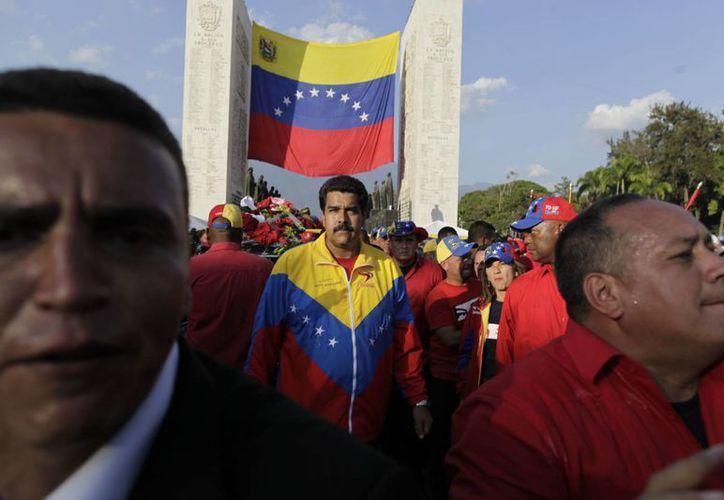 Chávez designó a Nicolás Maduro como su vicepresidente. (Agencias)