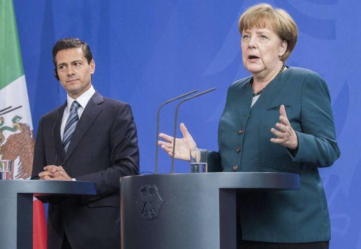 """En el Museo Interactivo de Economía, en el marco del evento """"Alemania y México: socios en el camino hacia la industria 4.0 y formación dual 4.0"""" (Foto: Contexto/Internet)"""