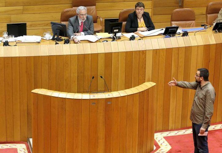 El debate en el parlamento por la Ley Antidesahucio ha polarizado  el debate entre los legisladores. (EFE)