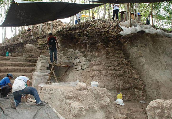 El INAH prevé que la zona arqueológica Ichkabal podría ser abierta al público el próximo año. (Eddy Bonilla/SIPSE)