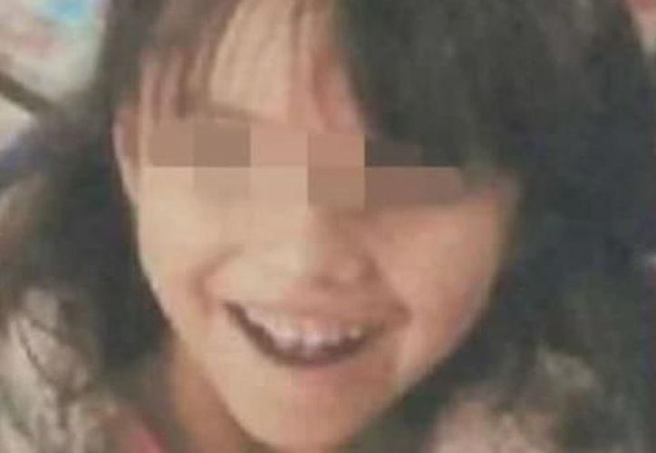La pequeña de seis años, fue reportada como desaparecida, el pasado 8 de marzo. (Foto: Internet)
