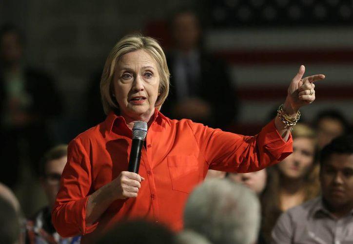 Si Hillary Clinton no comete ningún error en el bando demócrata, tendrá la candidatura asegurada. (Agencias)