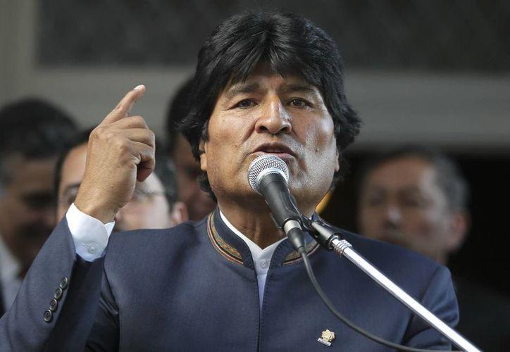 Morales celebró sus 54 años de vida en un acto con indígenas y campesinos en la región andina de Oruro. (Archivo/EFE)