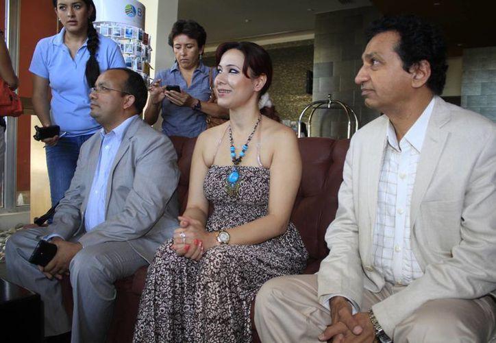 Ayer se presentó la semana de Bollywood en este destino turístico. (Sergio Orozco/SIPSE)
