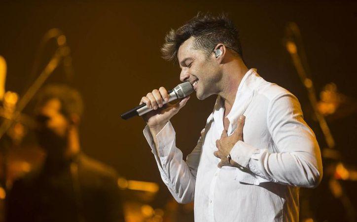 Todo indica que el cantante Ricky Martin llegará a Mérida el año entrante para el Carnaval. (Foto de archivo de Notimex)