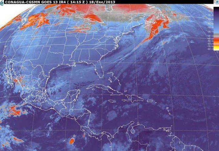 Soplarán vientos del norte y noreste de 30 a 50 km/h con rachas de 70 km/h. (smn.cna.gob.mx)