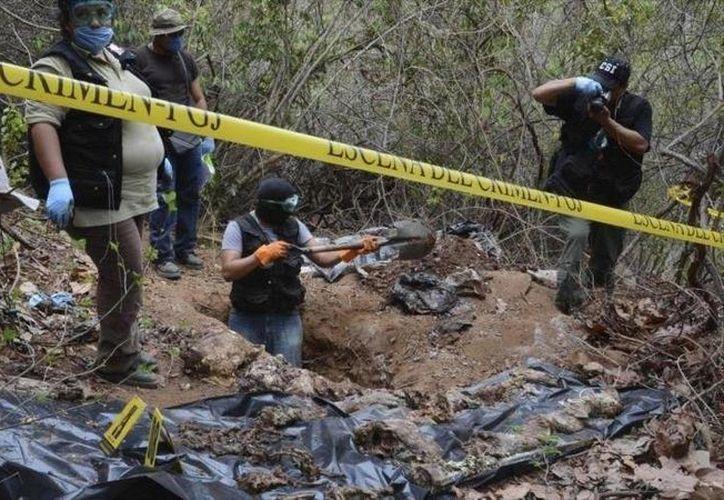 Ante la creciente problemática de personas desaparecidos, el gobierno de México anunció la creación de un registro nacional de fosas. (twitter.com/danielviglione)