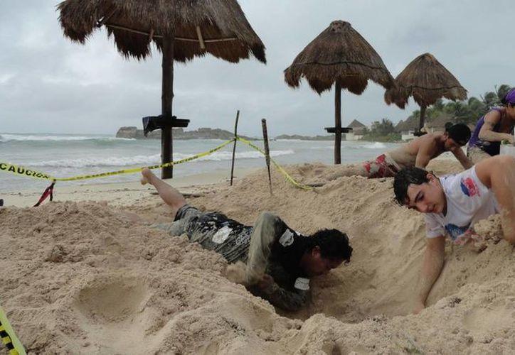 El 1 de mayo inició oficialmente la temporada de arribo y anidación de tortugas.  Voluntarios ya han encontrado 10 nidos.  (Rossy López/SIPSE)