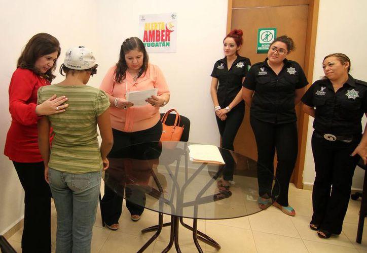 Hace unos días la Fiscalía de Yucatán entregó a las autoridades de Tabasco a una menor de ese estado que fue encontrada en Tekax. (SIPSE)