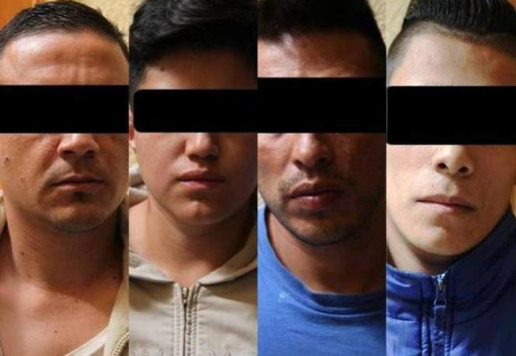 Los presuntos secuestradores y homicididas de un guía de turistas en 2015. (Excélsior)